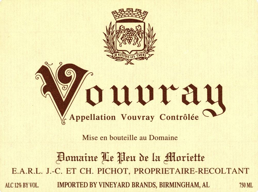 Pichot Vouvray Domaine le Peu de la Moriette Label.jpg