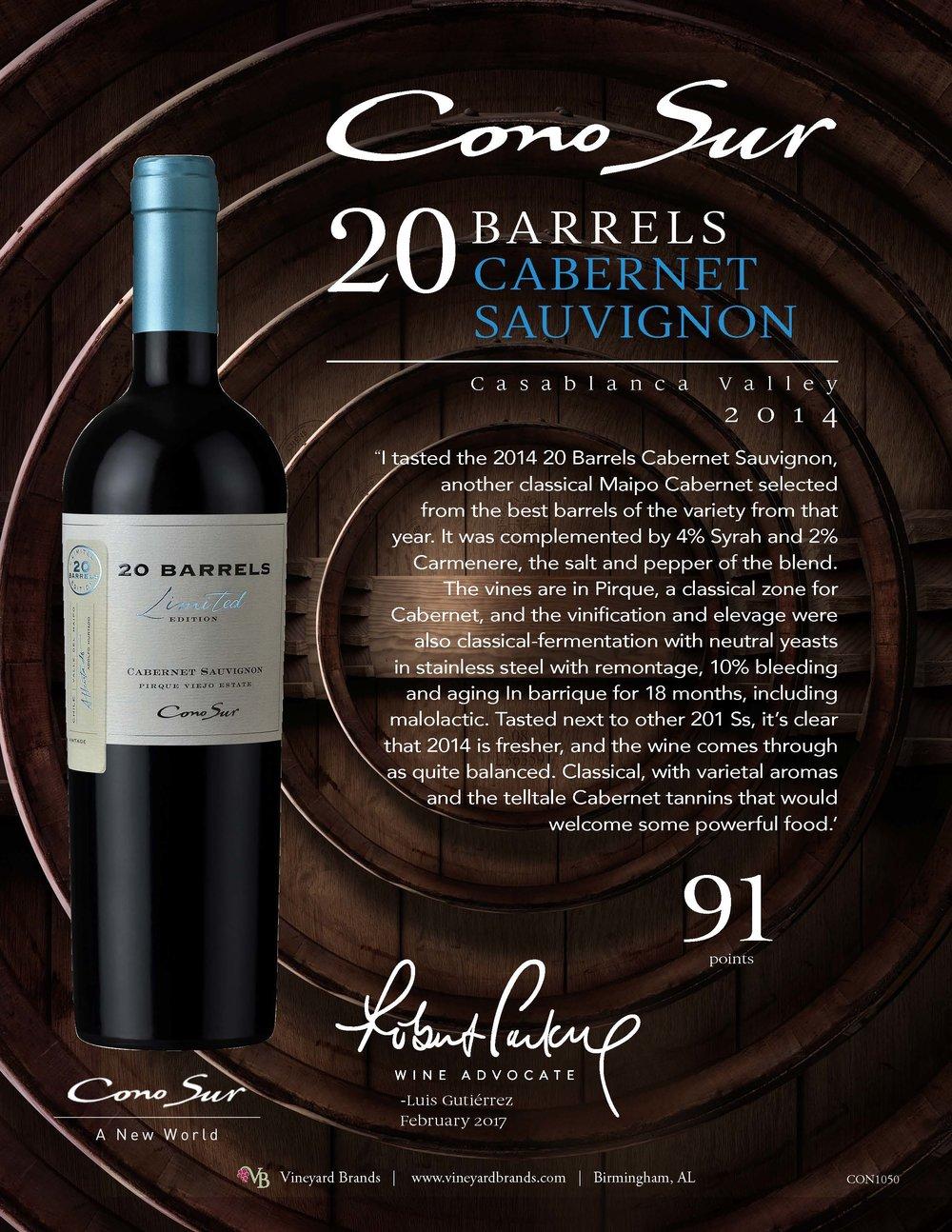 Cono Sur 20 Barrels Cabernet Sauvignon 2014_Wine Advocate.jpg