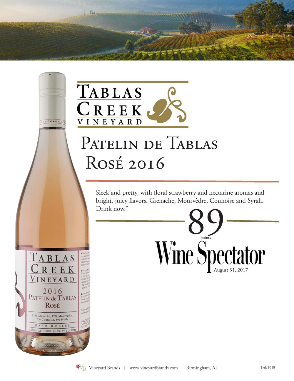 Tablas Creek Patelin de Tablas Rose 2016.jpg