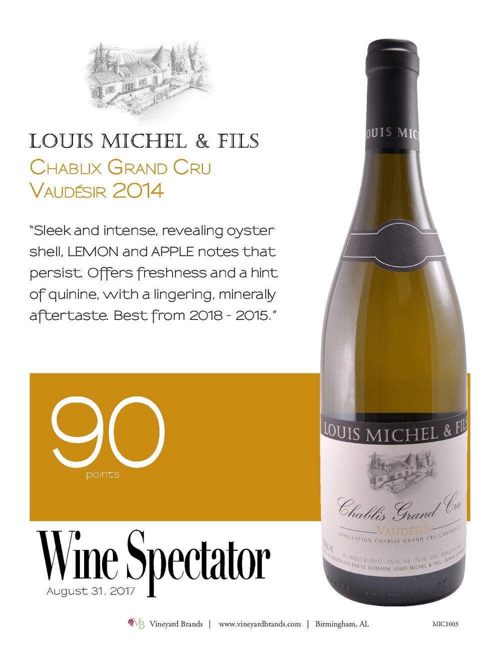 Louis Michel & Fils Chablix Grand Cru Vaudesir 2014.jpg