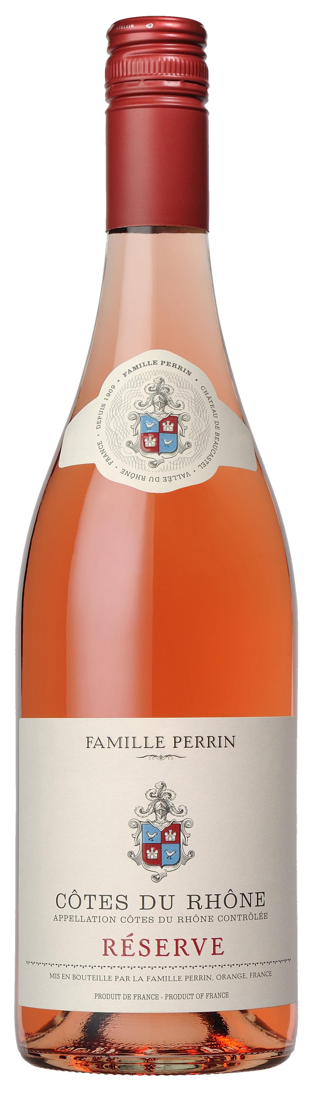 Famille Perrin Réserve Côtes du Rhône Rosé Bottle.jpg