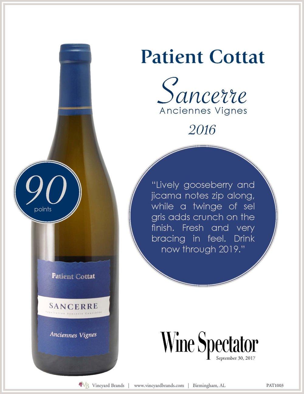 Patient Cottat Sancerre Anciennes Vignes 2016.jpg