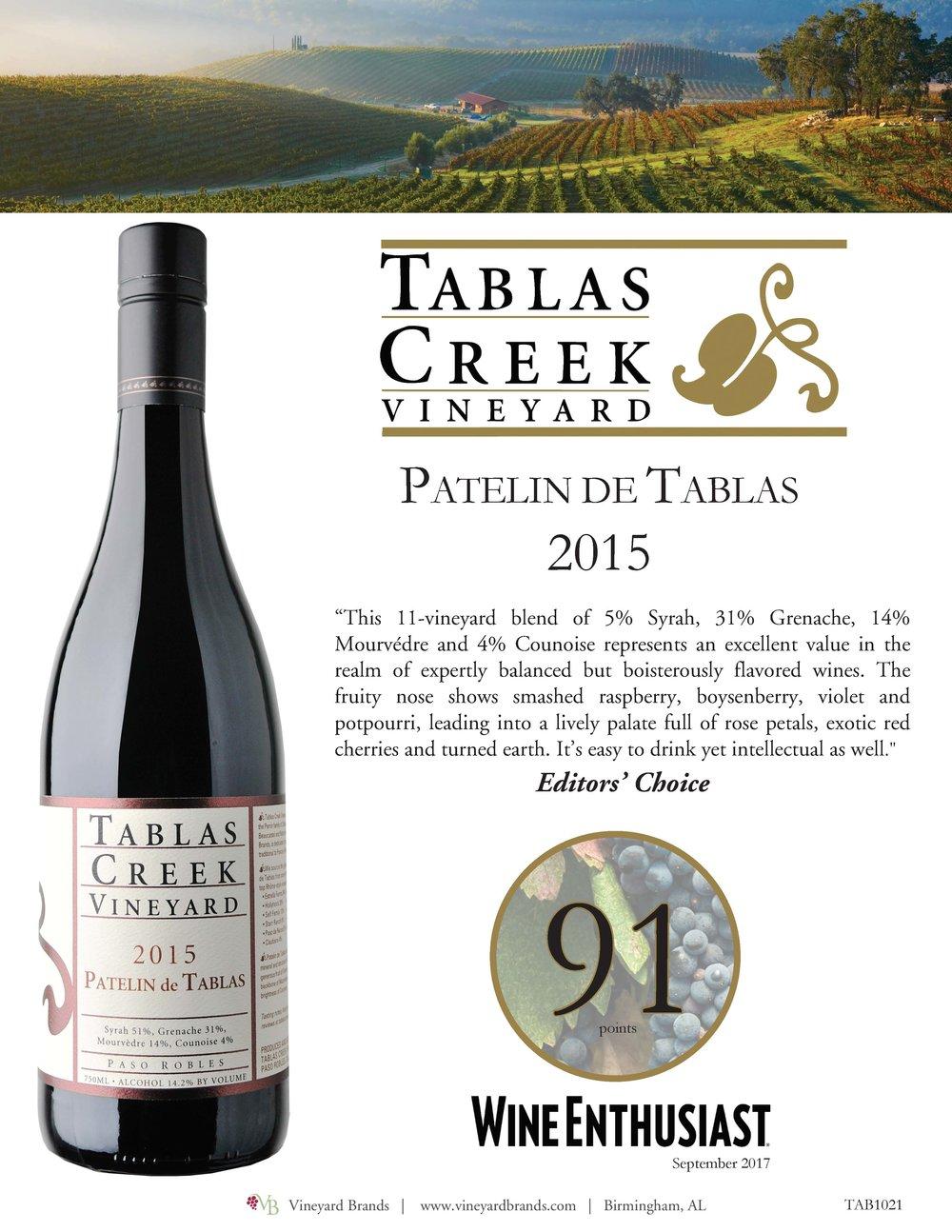 Tablas Creek Patelin de Tablas 2015.jpg