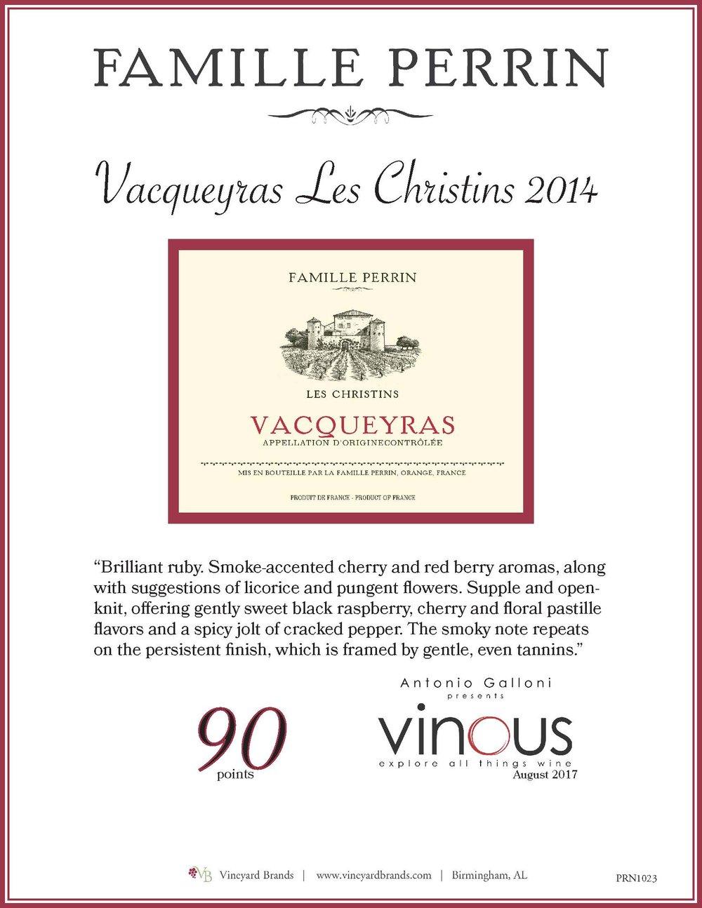 Famille Perrin Vacqueyras Les Christins 2014.jpg
