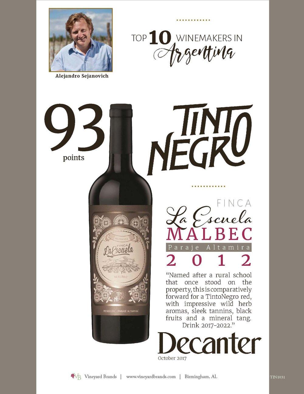 Tinto Negro Finca La Escuela Malbec 2012.jpg