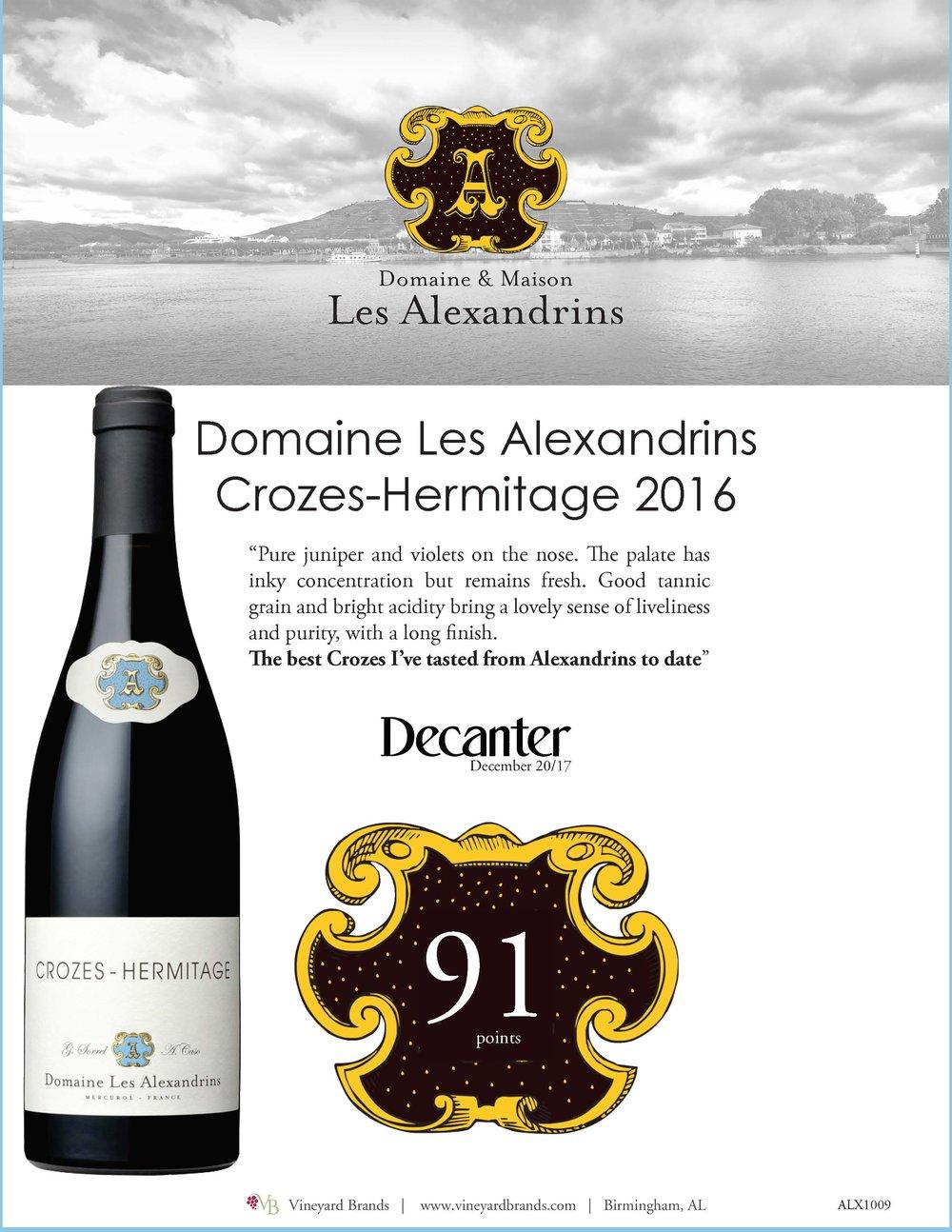 Domaine Les Alexandrins Crozes Hermitage 2016.jpg