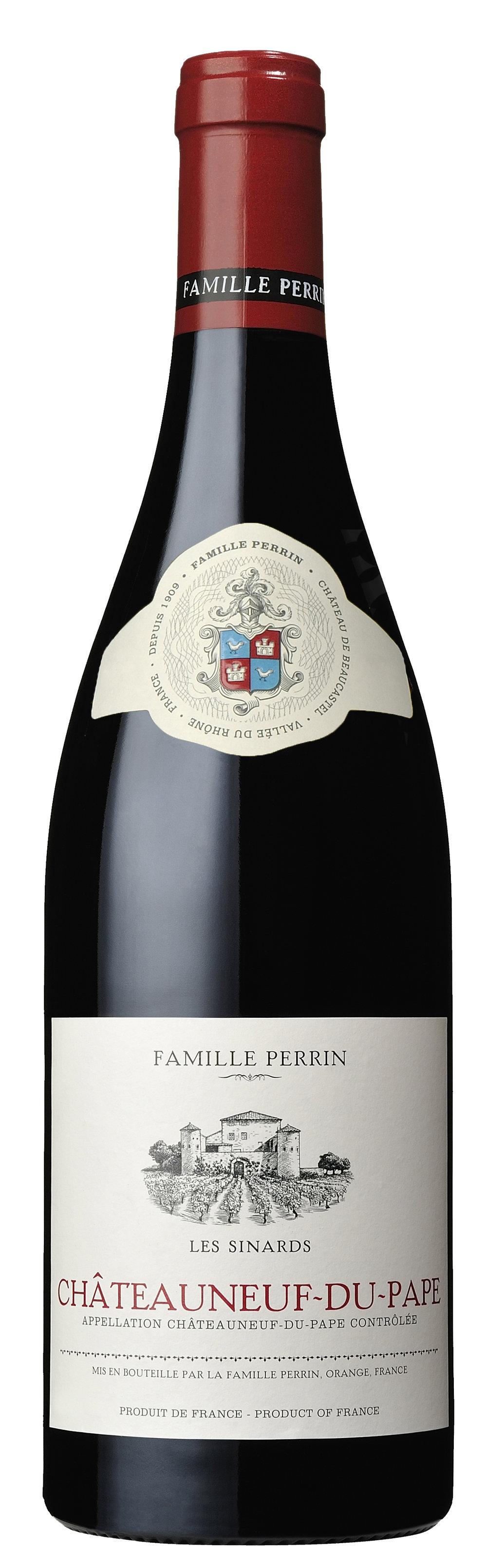 Famille Perrin Châteauneuf-du-Pape Les Sinards Bottle.jpg