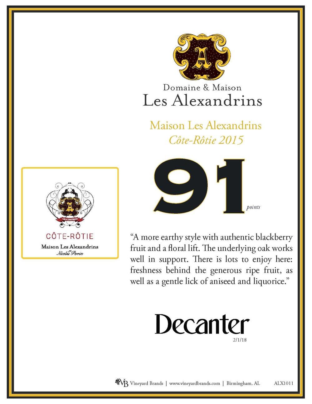 Maison Les Alexandrins Cote Rotie 2015.jpg