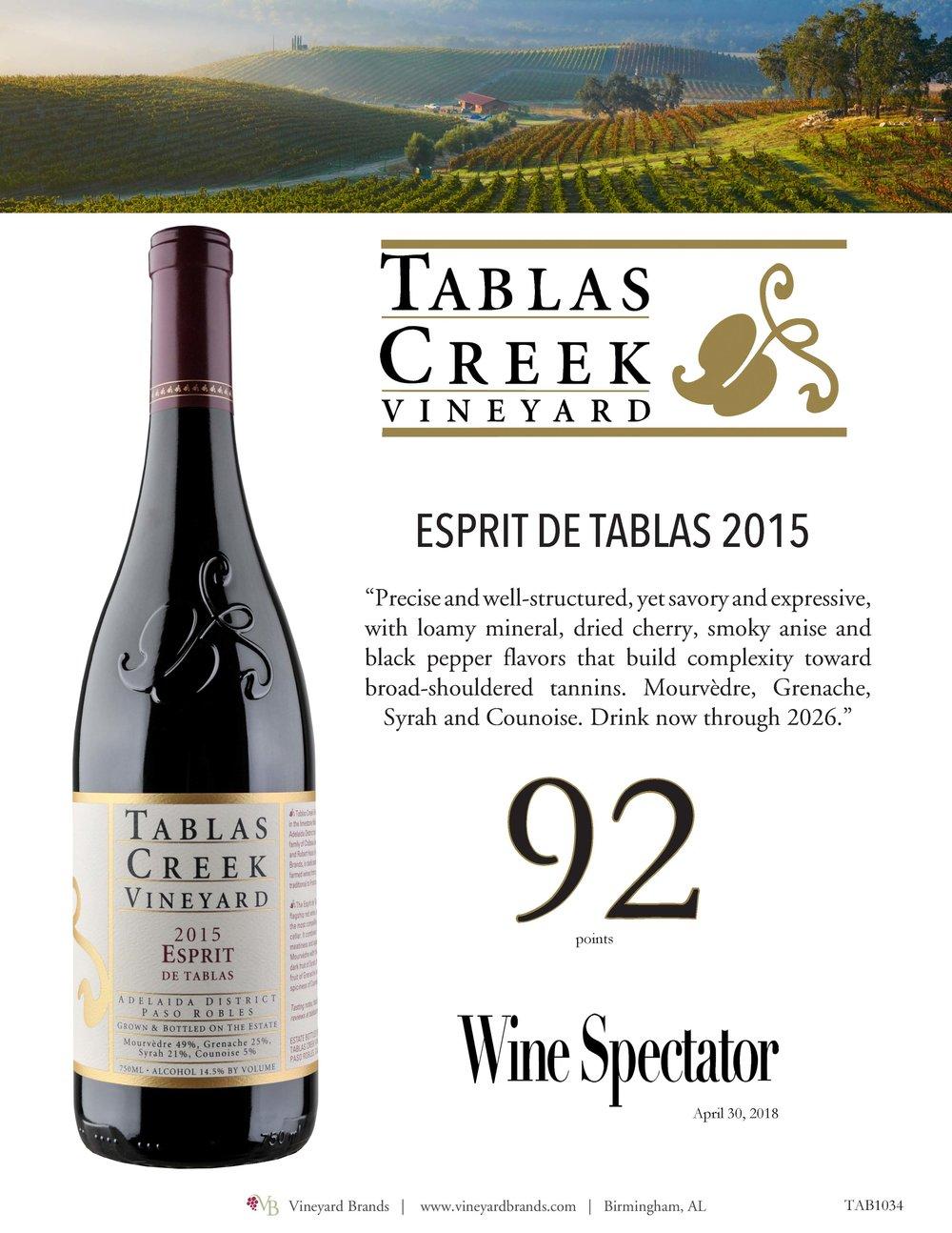 Tablas Creek Esprit de Tablas 2015.jpg