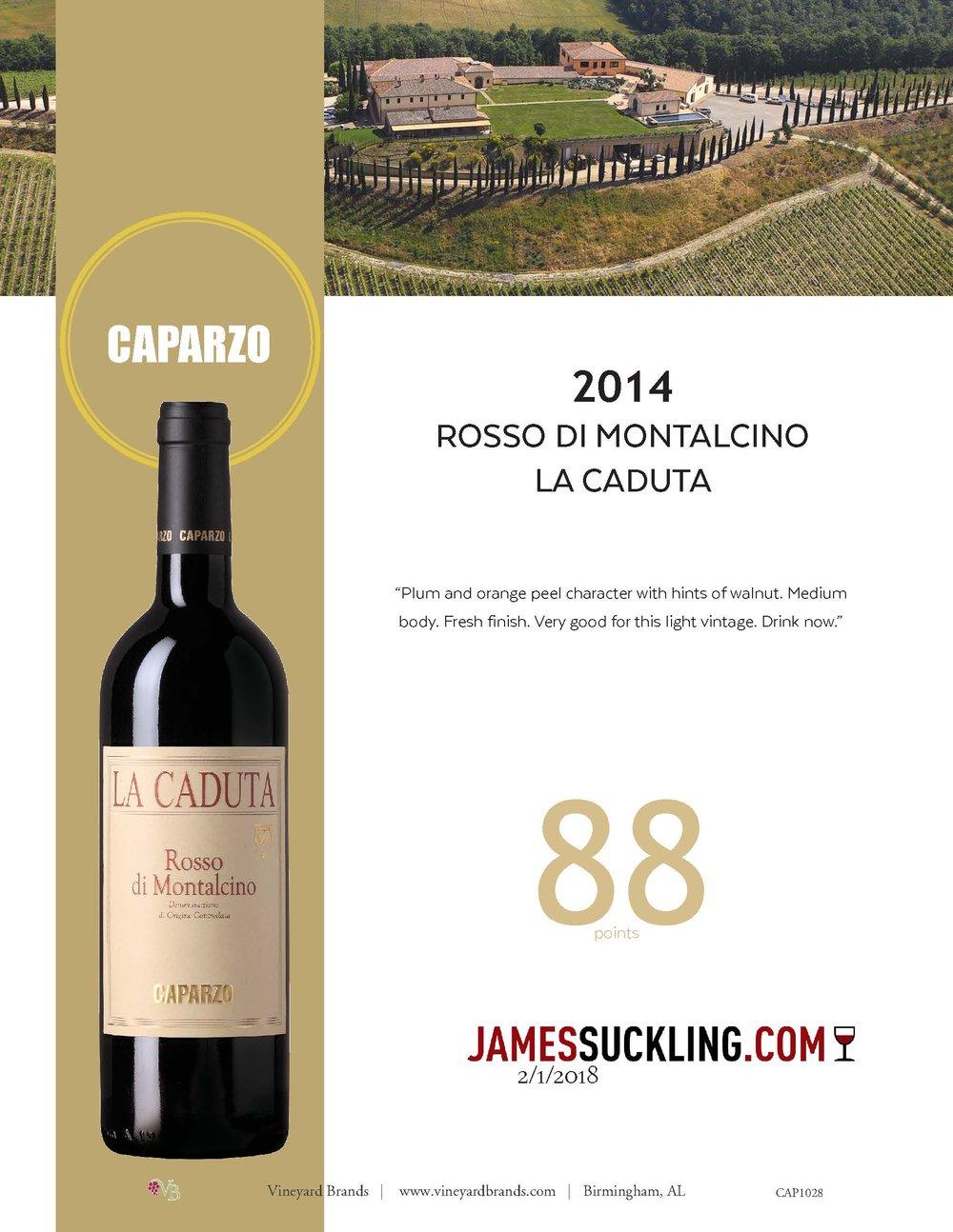 Caparzo Rosso di Montalcino La Caduta 2014.jpg