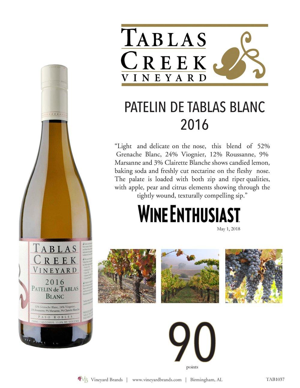 Tablas Creek Patelin de tablas blanc 2016.jpg
