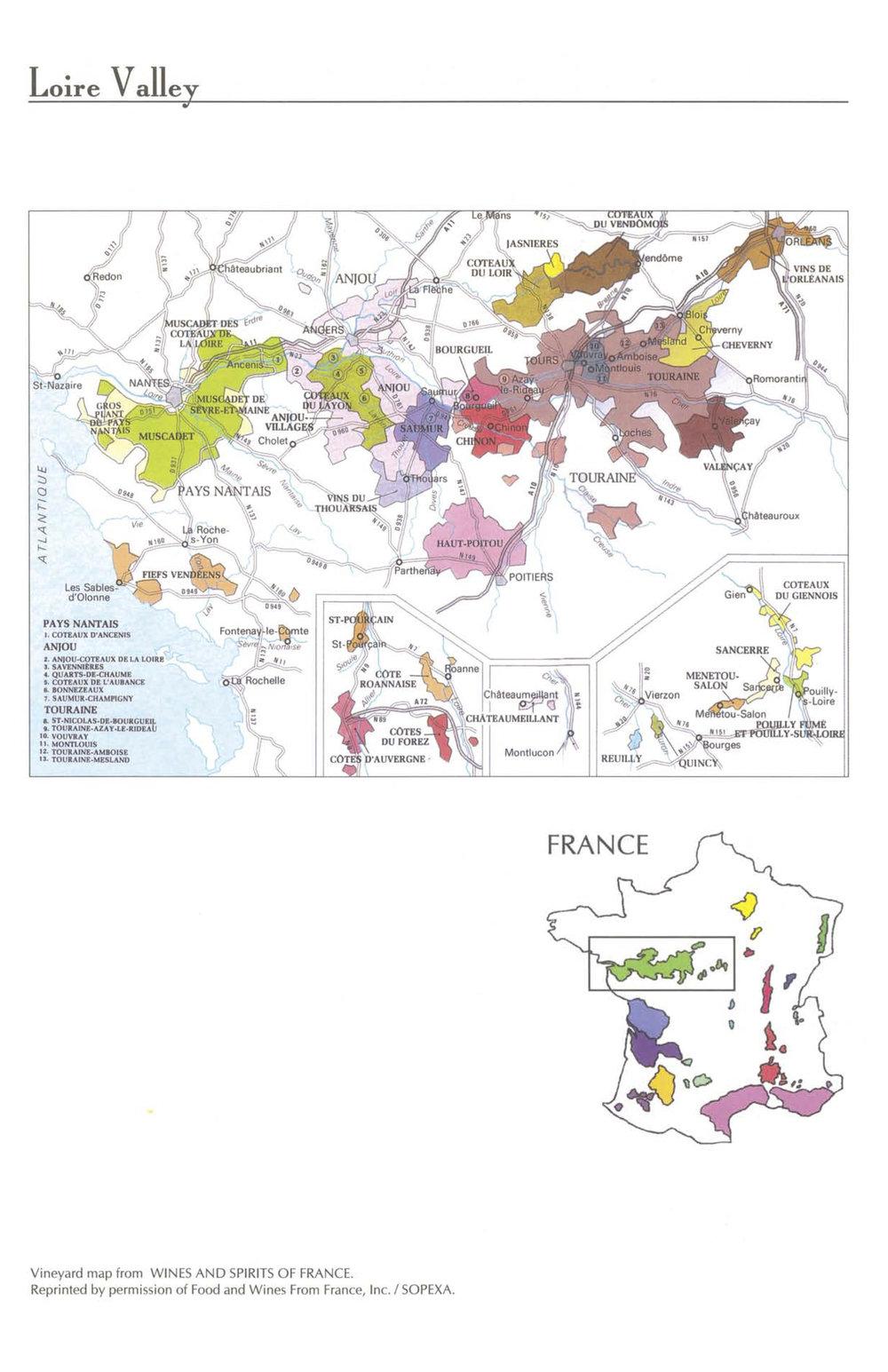 Loire Valley (Wine & Spirits of France) Map 11x17.jpg