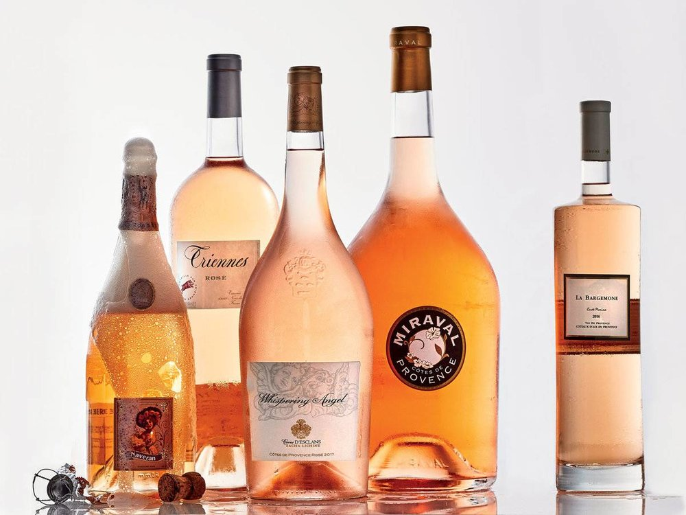 Food & Wine Magazine: 9 Big Bottles of Impressively Good Rosé | 5/7/18