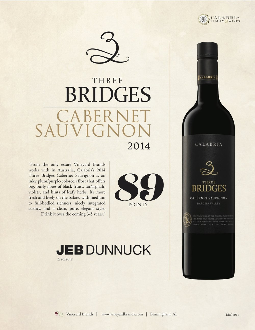 Three Bridges Cabernet Sauvignon 2014.jpg