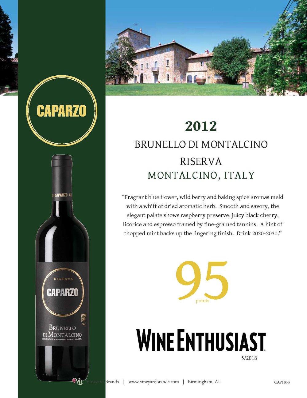Caparzo 2012 Brunello di Montalcino riserva .jpg
