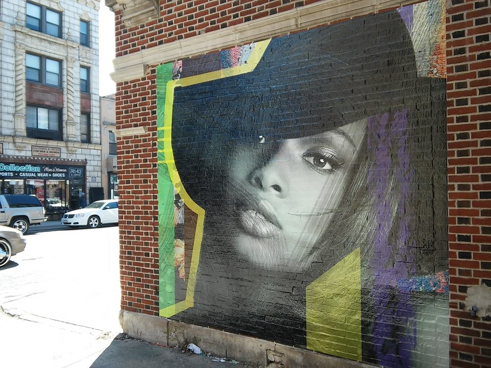 Jennifer Hudson 79th and Evans, Chicago