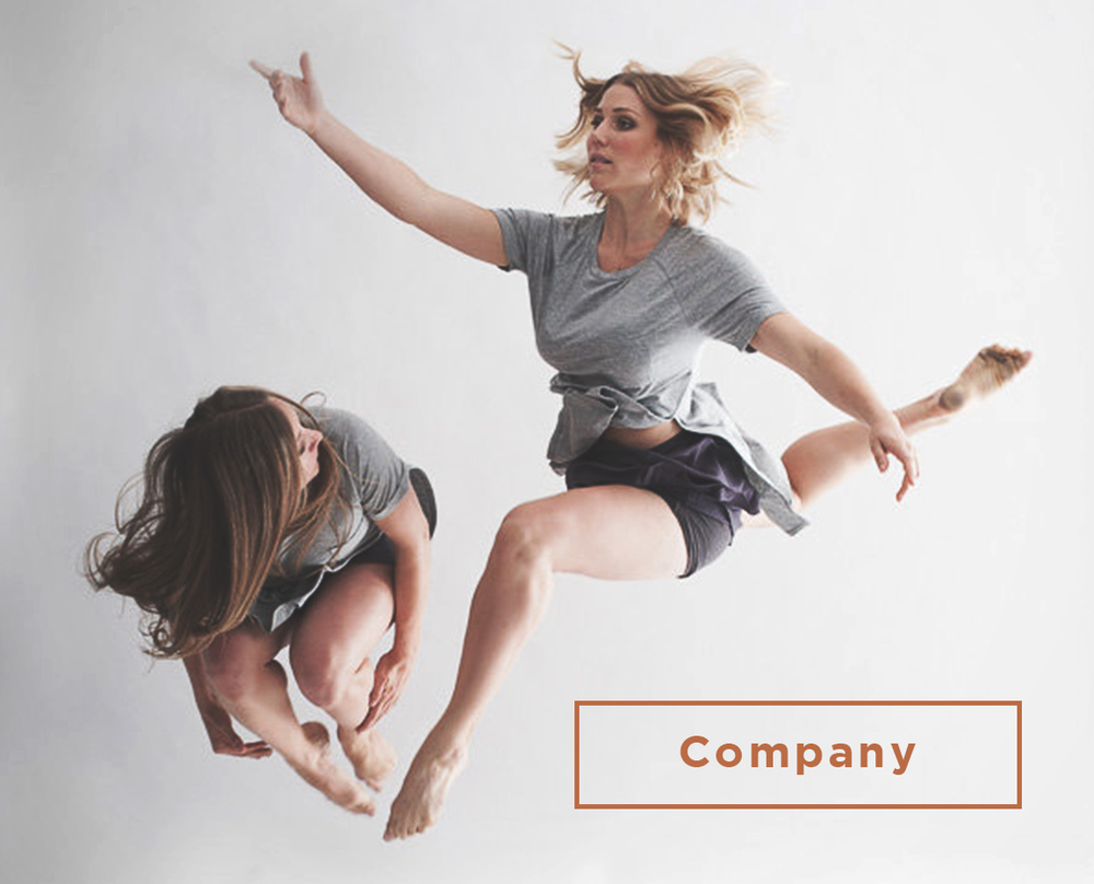 company dance button
