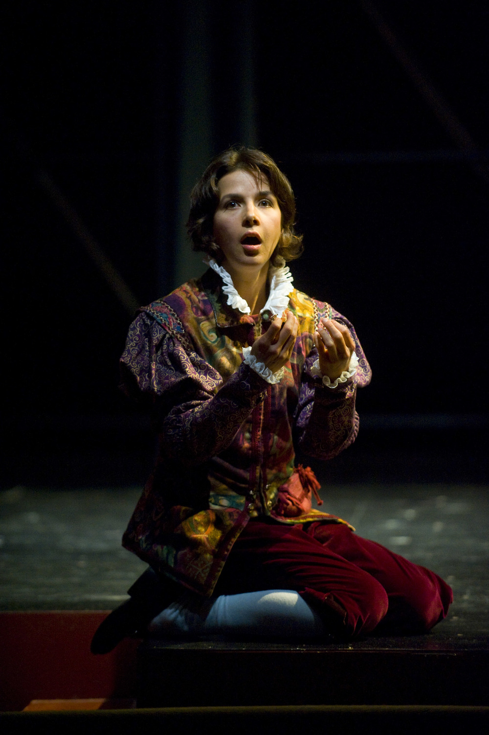 Viola in TWELFTH NIGHT directed by Jon Croy Shakespeare & Company Photo credit: Kevin Sprague
