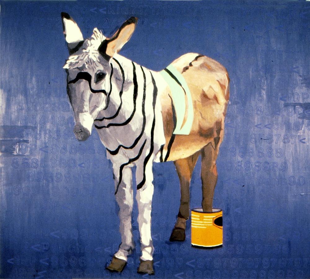 Half Ass Donkey 6'x8' oil on canvas 2002.jpg