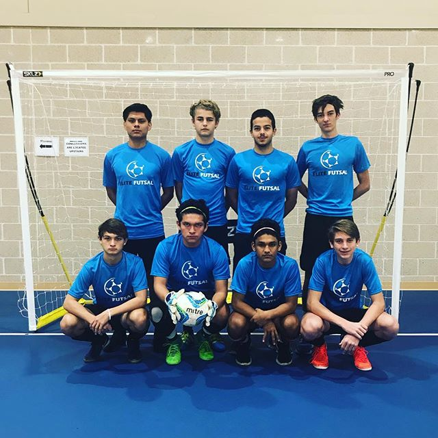 Our U17 Boys in the Southeast Indoor Winter Games