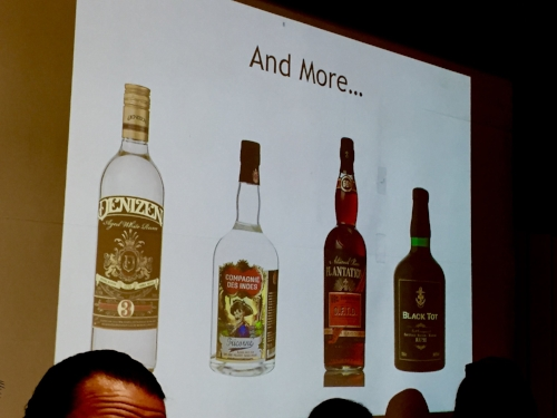 slide from  The Multi-Origin Rum Category by  Jim Meehan
