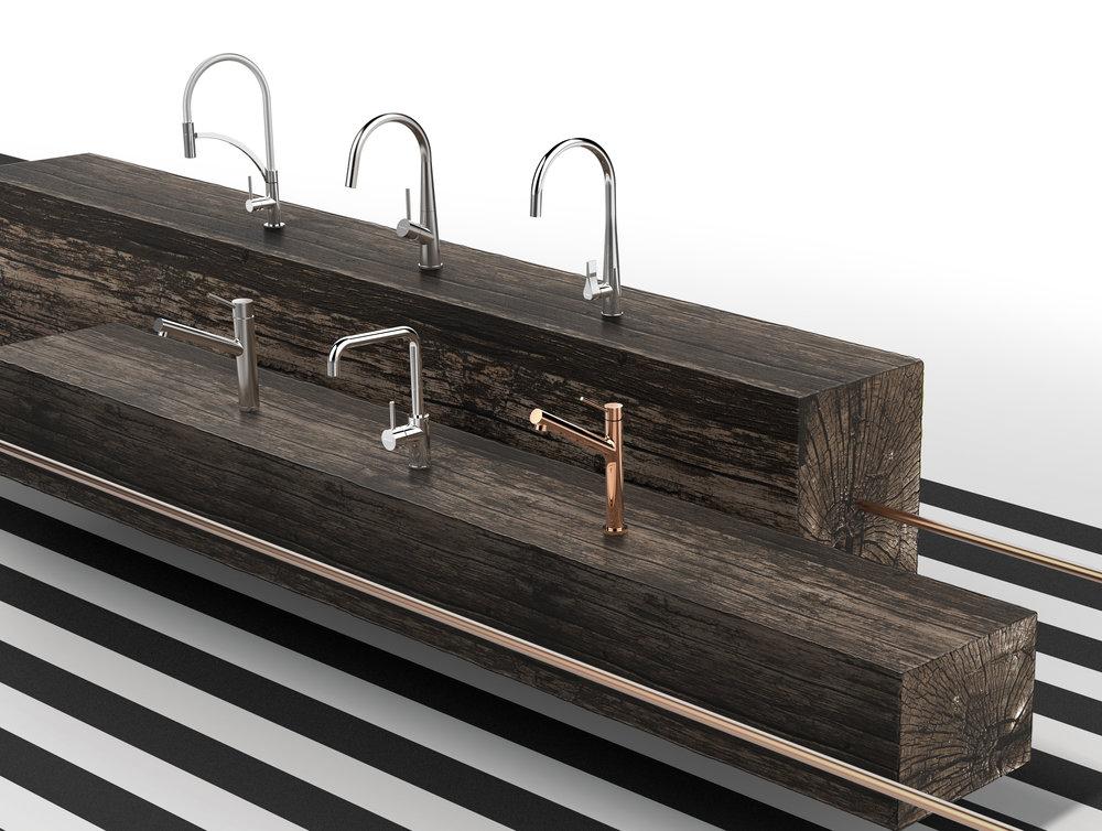 Die sechs neuen Küchenarmaturen von SCHOCK