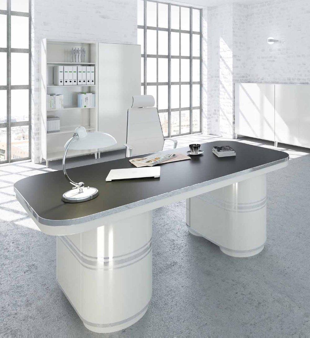 mauser einrichtungssysteme Tonnentisch -limitiert neu aufgelegt