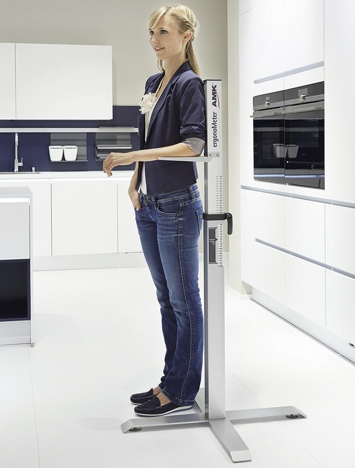 Ergonomie ist wichtig - auch in der Küche.