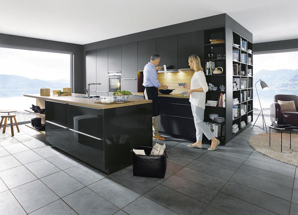 Küchentyp:Beim Zusammenleben gleichen sich typisch männlicher Geschmack und typisch weiblicher Geschmack meist von selbst an.