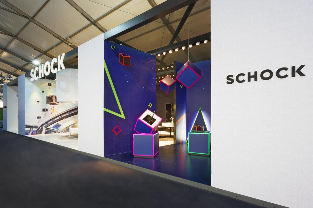 Neon Pop-Art: SCHOCK auf der area30
