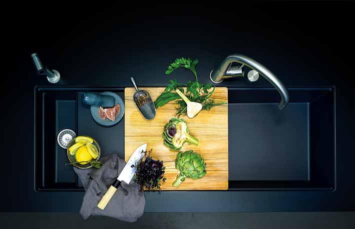 Das neuartige Spülen-Konzept, die Prepstation, überzeugt Experten und Verbraucher.