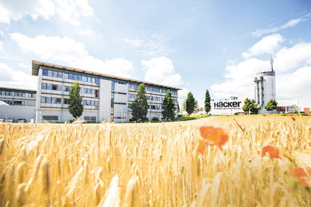 Unternehmenssitz von Häcker Küchen in Rödinghausen