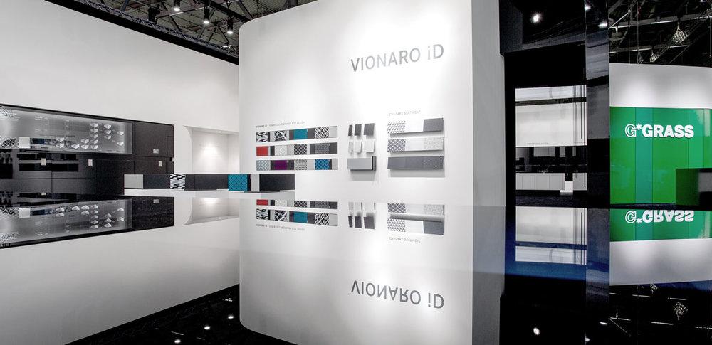 Vionaro iD: modular ergänzbare Designelemente bieten ein Höchstmaß an Individualität.