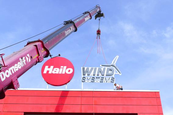 Hailo Wind Systems: neuer Standort