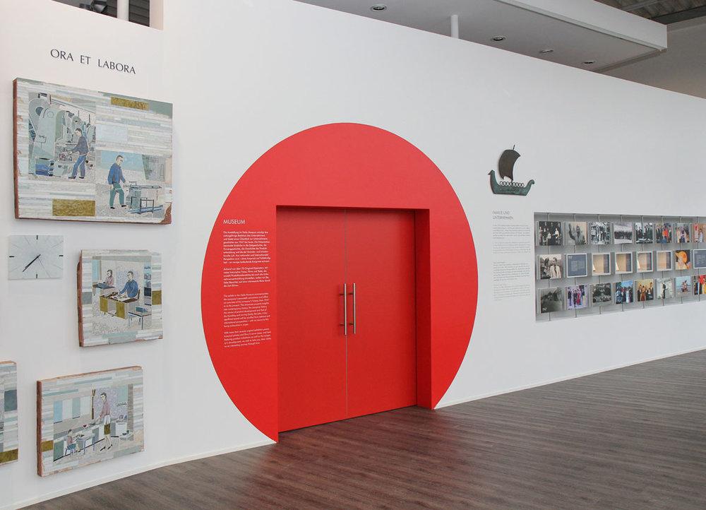 Das neu eröffnete Museum gibt den Besuchern Einblicke in die 70-jährige Geschichte.