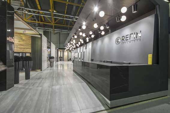Ceramiche Refin: neue Kollektionen auf insgesamt fast 400 Quadratmetern Fläche