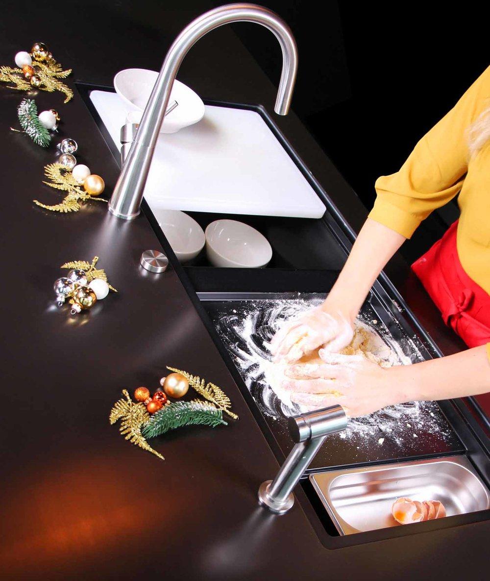 Weihnachtsbäckerei mit der SCHOCK Prepstation