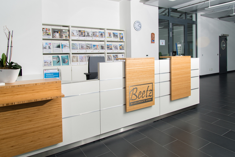 Empfang Beetz Bauelemente GmbH