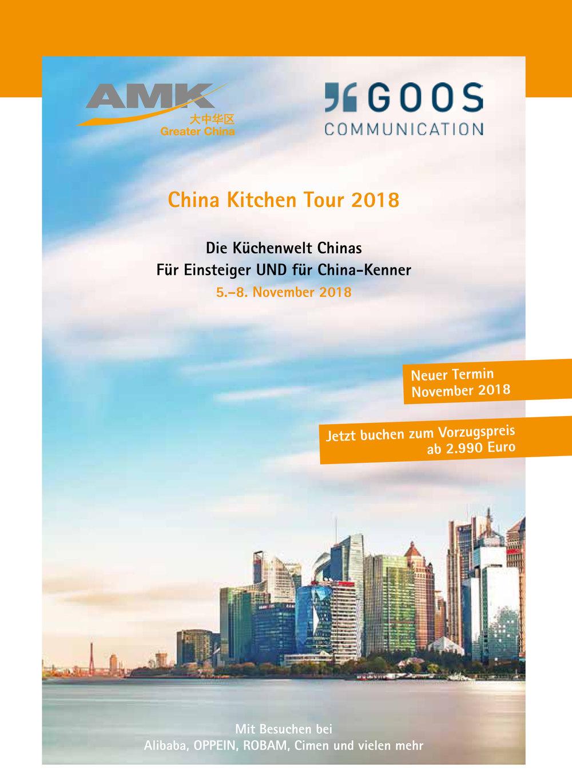 China Kitchen Tour 2018