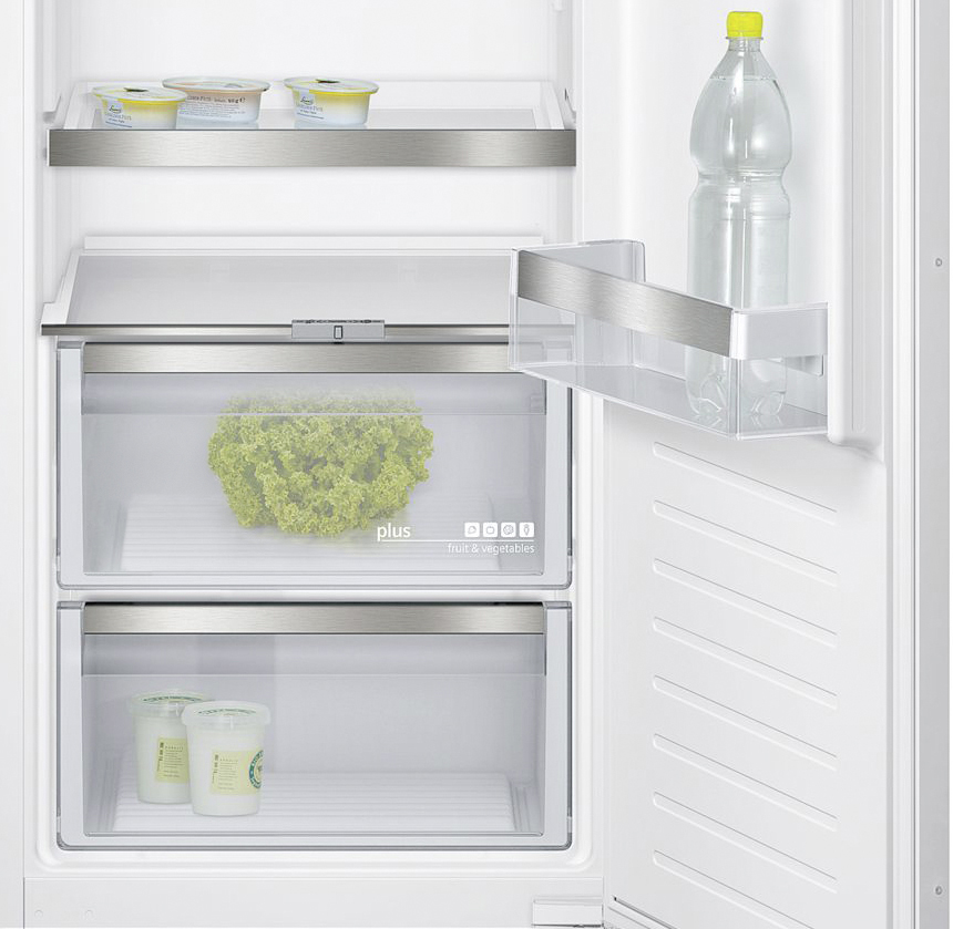Der moderne, energieeffiziente Kühlschrank bietet unterschiedliche Kühlzonen für unterschiedliche Lebensmittel und Getränke. (Foto: AMK)