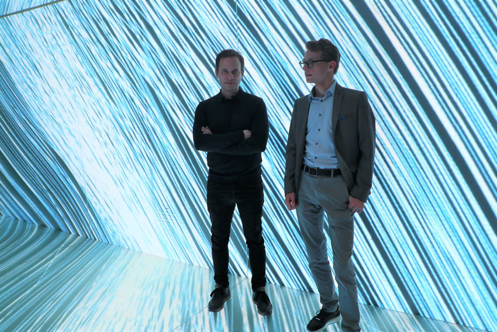 Marc Gumpinger und Christof Babinsky