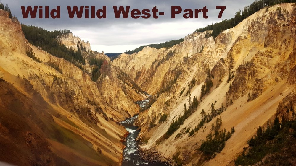 Yellowstone Canyon, Falls, & Yellowstone River