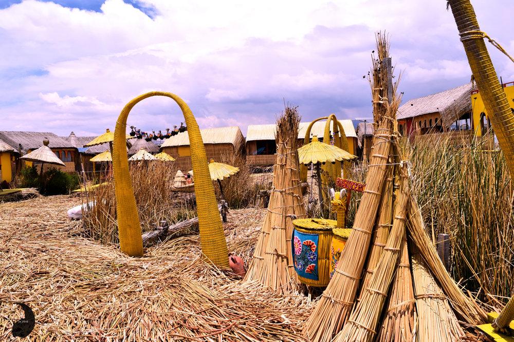 Uros Khantati- Totora Reeds