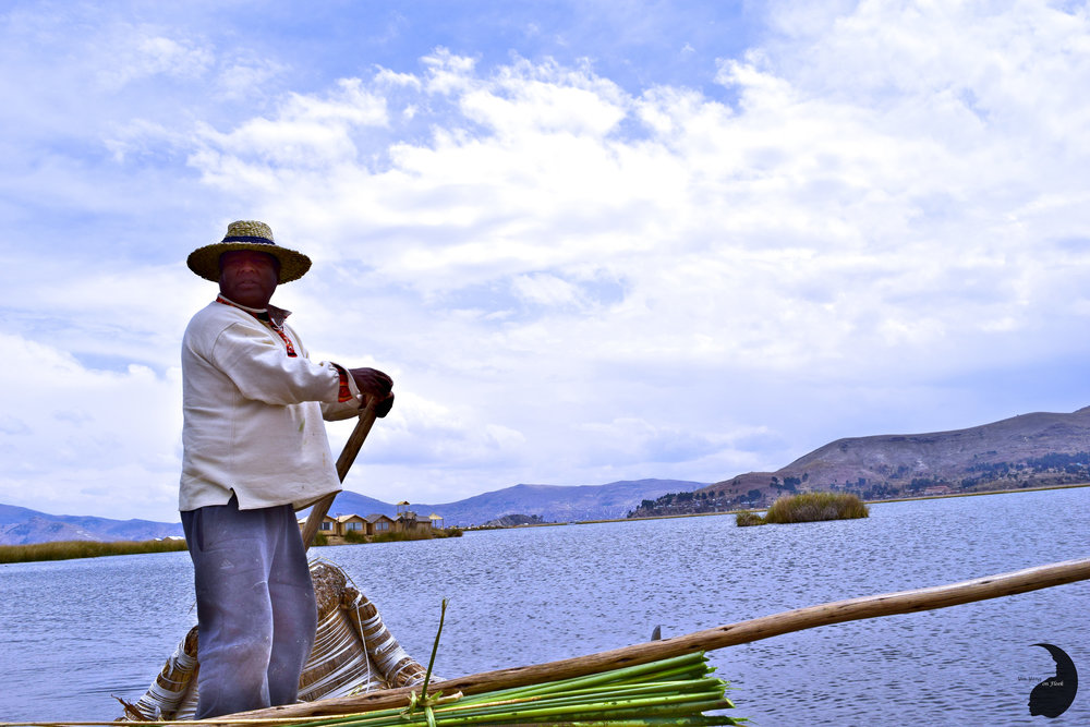 Floating Islands of Uros- Uros people