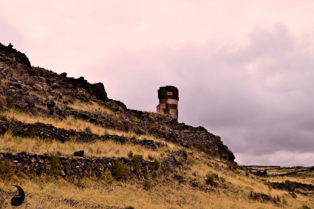 Dramatic Burial Towers- Sillustani, Peru