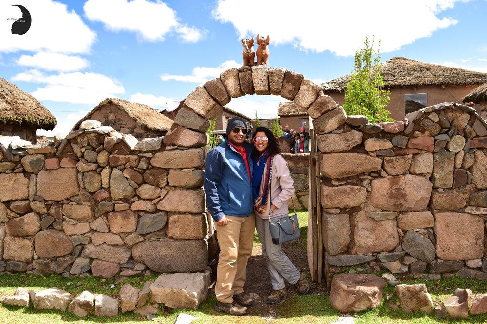 Atuncolla Village, Sillustani, Puno, Peru