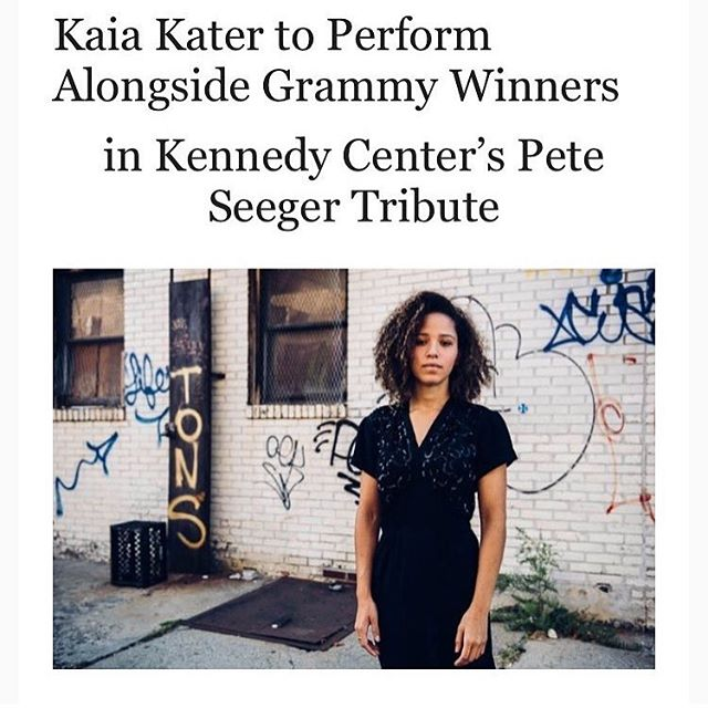 Happy to be part of @kennedycenter & @thegrammymuseum's tribute to Pete Seeger happening in DC on April 15, along with @mrslev, @_judy_collins & @tonytrischka among others! #FACTORfunded
