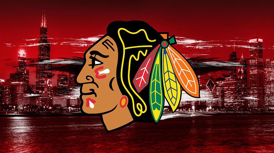 Chicago Blackhawks Vs.Detroit Red Wings -
