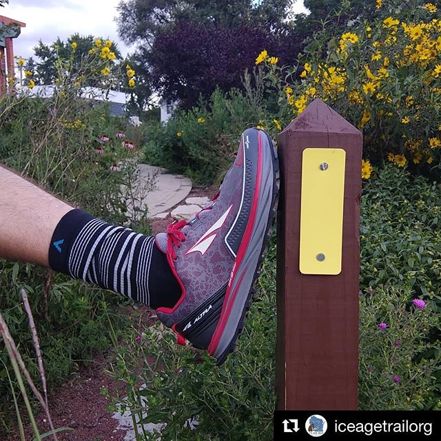 Friends in Wisconsin be sure to check out the Madison and Brookfield REI stores for the special edition Ice Age Trail Wigwam socks! A donation is made to the @iceagetrailorg with every purchase! . . . #Repost @iceagetrailorg with @get_repost ・・・ Get your very own pair of 'Ice Age Trail' socks so you can be stylin' during your lunch time run whether you're running to the peak or to the pub. These @wigwamsocks are now proudly carried by @rei stores in Madison and Brookfield. REI and Wigwam teamed up to donate 20% to the Alliance. And don't these @altrashoes look good on the Trail? #optoutside #wigwam #myfavoritepair #rei #iata60