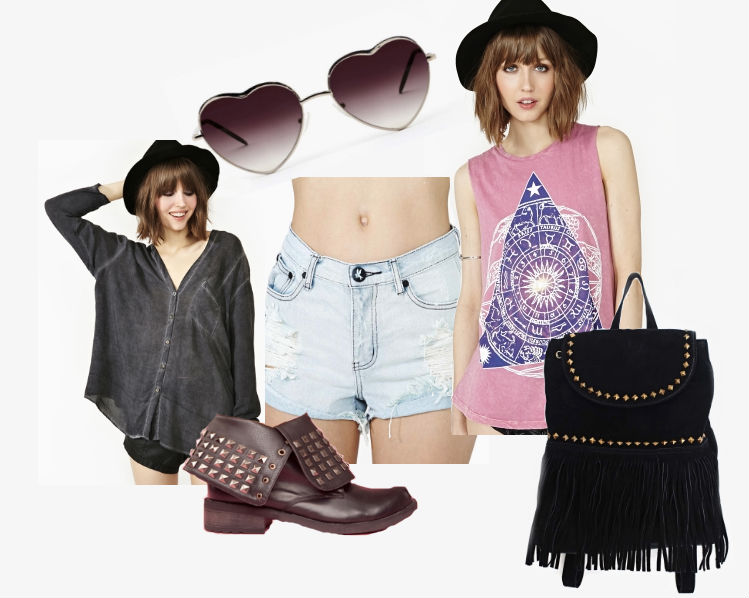Nasty Gal Festival Outfit